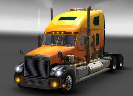 Грузовик Freightliner Coronado для American Truck Simulator