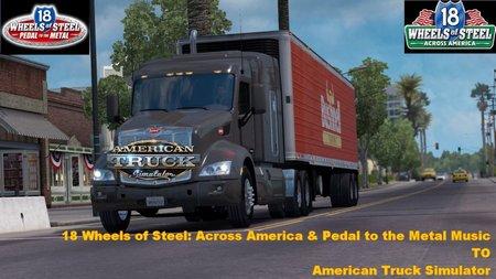 Музыка и Звуки из 18 Wheels of Steel для American Truck Simulator