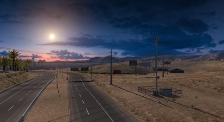 SGate Weather Mod для American Truck Simulator
