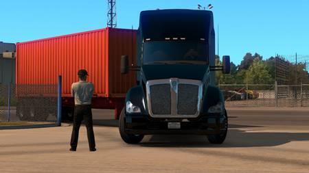 Чувачок-диспетчер для American Truck Simulator