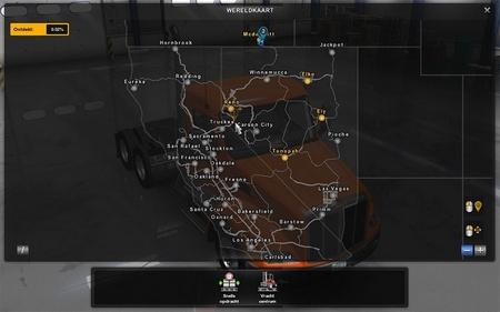 Карта дорога в Ванкувер v0.0.2 для American Truck Simulator