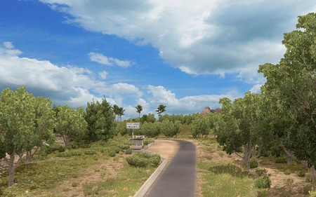 Weather Mod для American Truck Simulator