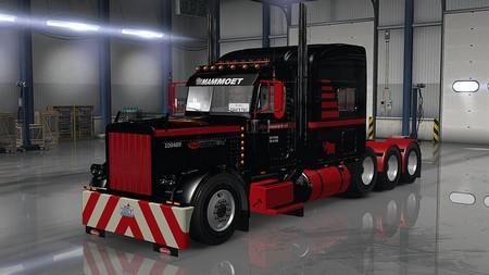 Скины Mammoet USA для merican Truck Simulator