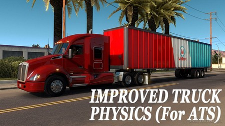Улучшенная физика грузовика для American Truck Simulator