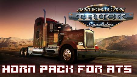 Пак звука клаксона для American Truck Simulator