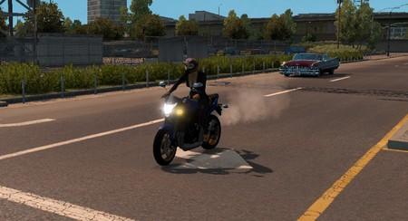 Мотоциклы в трафик для American Truck Simulator