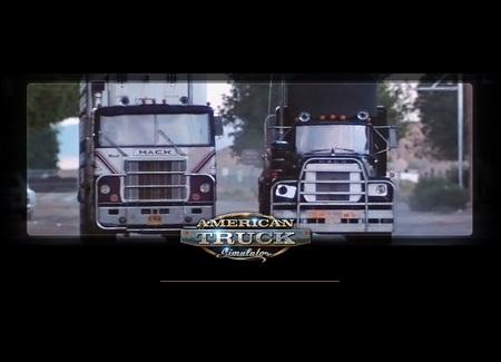 """Загрузочный экран """"Конвой"""" для American Truck Simulator"""