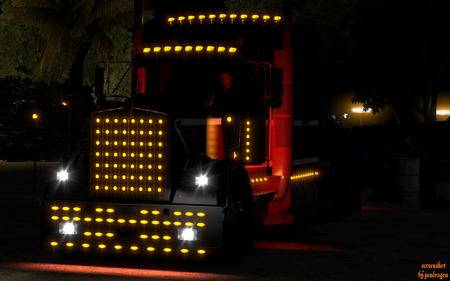 Бамперы и аксессуары Kenworth W900 для  American Truck Simulator