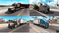 Пак грузового трафика от Jazzycat  для American Truck Simulator