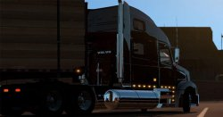 Грузовик Volvo VT880 для American Truck Simulator