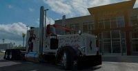 Скин Harley Quinn Peterbilt 389 для American Truck Simulator
