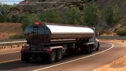 Прицеп цистерна для American Truck Simulator