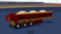Прицеп-самосвал с песком для American Truck Simulator