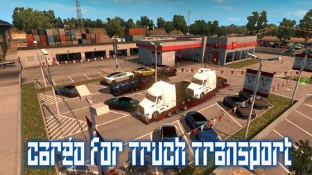 Прицепы с грузовиками для American Truck Simulator