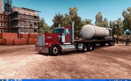 ReShade MasterEffect Preset для American Truck Simulator