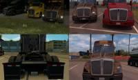 Тонировка фар грузовиков для American Truck Simulator