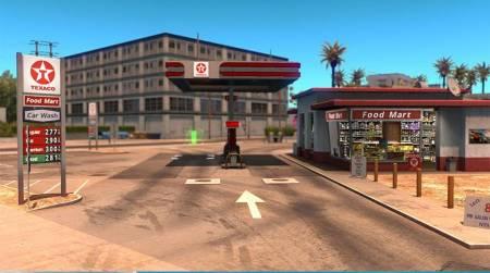 Настоящие АЗС для American Truck Simulator