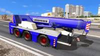 Mod Автокран Liebherr в трафик для ATS