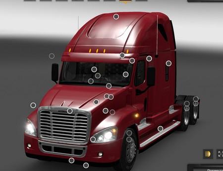 Mod Freightliner Cascadia для American Truck Simulator