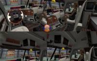 Mod Интерьер Freightliner Argosy Reworked для ATS