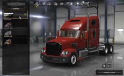Mod Freightliner Coronado + трейлер для ATS