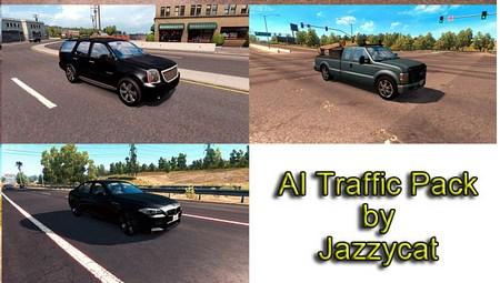 Mod Пак легкового трафика от Jazzycat для ATS