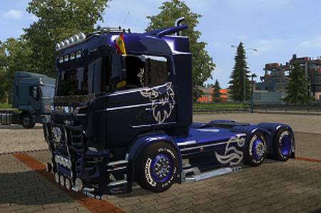 Mod Грузовик Scania R&S для American Truck Simulator