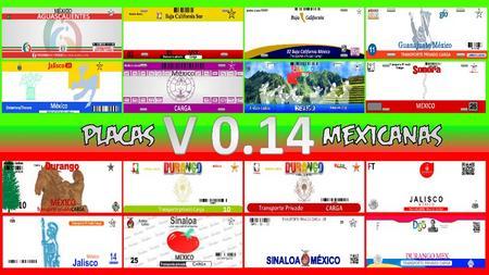 Mod Мексиканские номера для American Truck Simulator