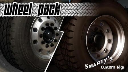 Mod Smarty's Wheel Pack для American Truck Simulator
