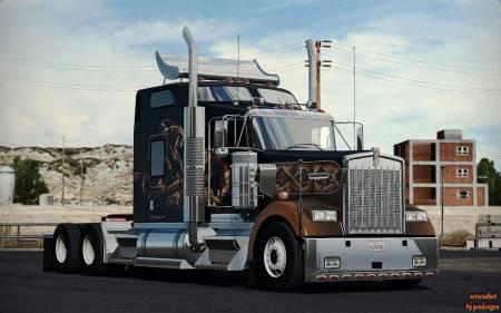 Mod SCS Trucks Extra Parts для American Truck Simulator