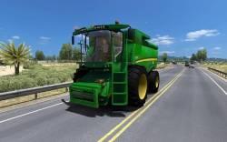 Mod Трактор в трафик для American Truck Simulator