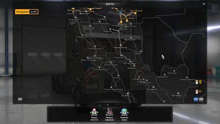 Mod Карта Карта Viva Mexico Map для ATS