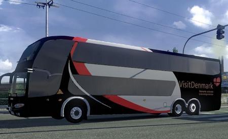 Mod Пак автобусов в трафик для American Truck Simulator