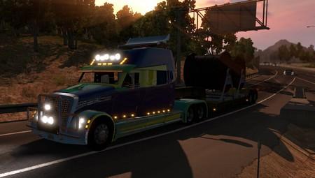 "Mod Грузовик ""Полет Фантазии"" для American Truck Simulator"