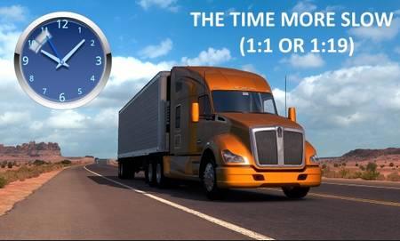 Mod Реальное время для American Truck Simulator