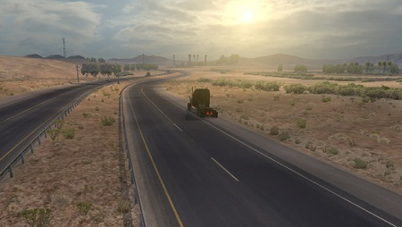 Mod Realistic Graphics Weather для American Truck Simulator