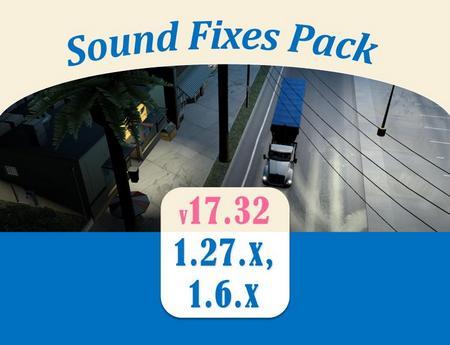 Sound Fixes Pack для American Truck Simulator