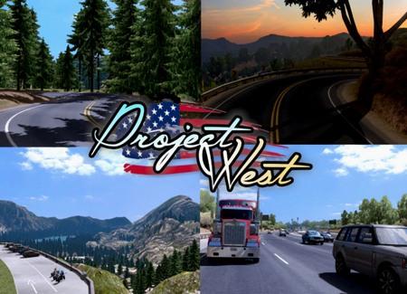 Mod Project West для American Truck Simulator