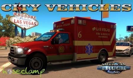 Mod Городской трафик для American Truck Simulator