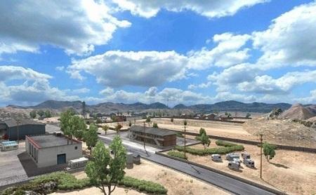 Mod Погода от Piva для American Truck Simulator