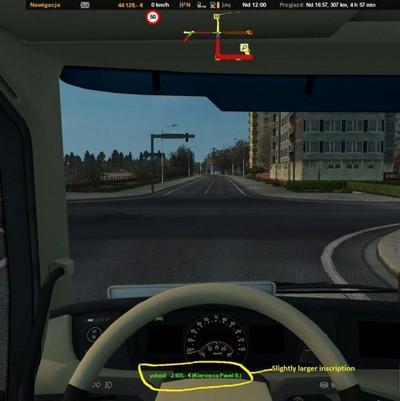 Mod New Route Advisor для American Truck Simulator