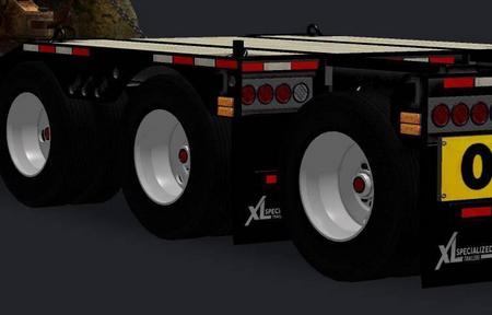 Mod Шины Мишлен для прицепа American Truck Simulator