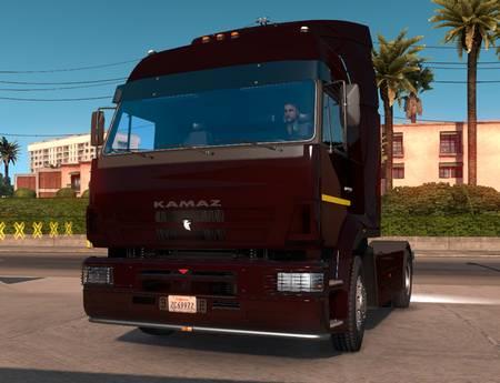 Mod Камаз 5360 / 5480 / 6460-73 для American Truck Simulator