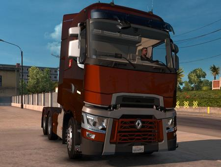 Mod Грузовик Renault T RTA для American Truck Simulator
