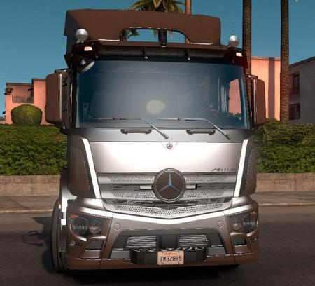 Mod Грузовик Mercedes-Antos 1840 для American Truck Simulator
