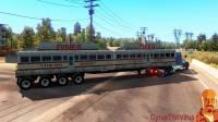 Mod Негабаритные прицепы USA для American Truck Simulator