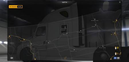 Mod Карта Project Going North для American Truck Simulator