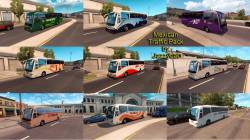 Mod Мексиканский трафик для American Truck Simulator